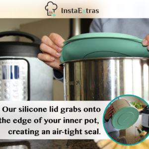 Instant Pot Silicone Lid - Fits All 6 & 8 QT Models