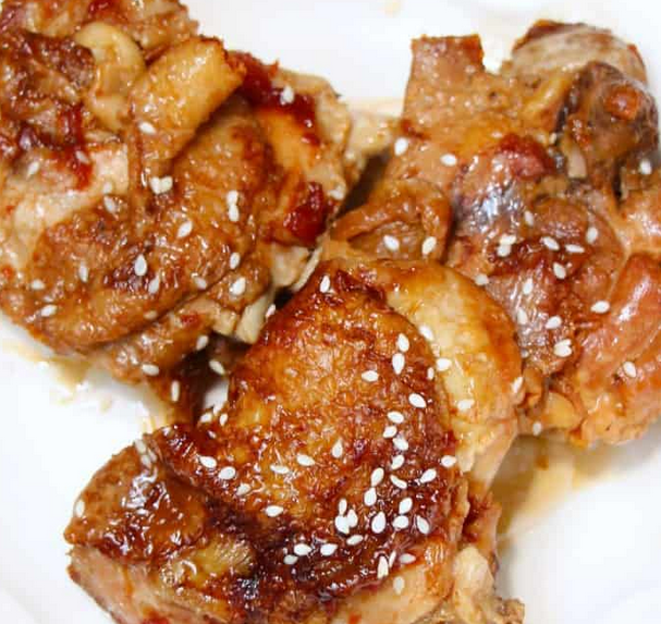 Honey Garlic Chicken Thigh Instant Pot Recipe