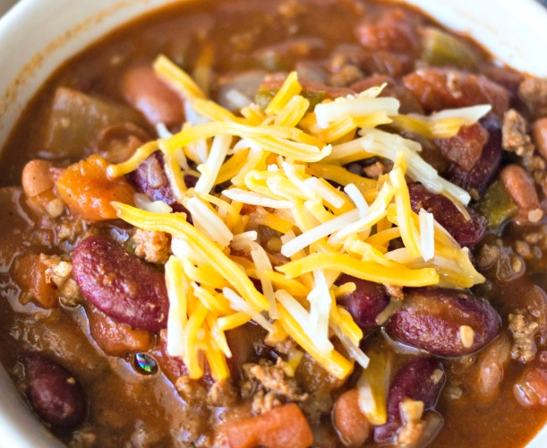 Instant Pot Simple Chili Recipe Like Wendy's