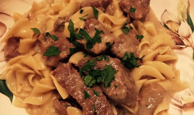 Instant Pot Beef Stroganoff Recipe