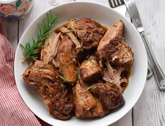 Instant Pot Pork Loin with Balsamic Recipe