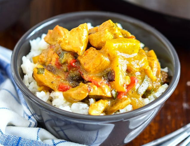 Easy Instant Pot Chicken Curry Recipe