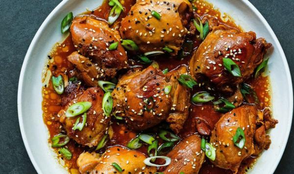 Instant Pot Teriyaki Chicken Thighs Recipe
