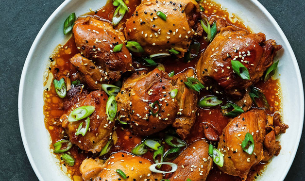 Instant Pot Teriyaki Chicken Thighs Recipe