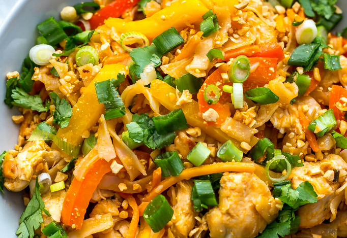 Instant Pot Chicken Pad Thai Recipe