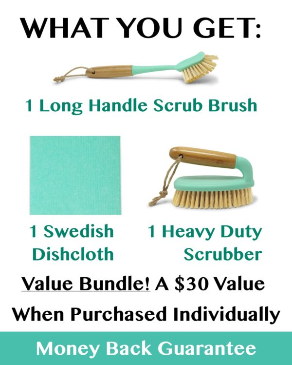 Scrub Brush Cleaning Set For Instant Pot