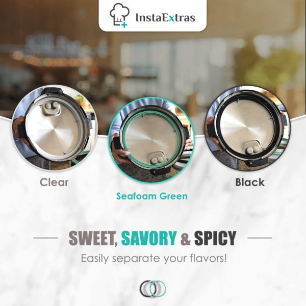 Silicone Sealing Ring Set for Instant Pots