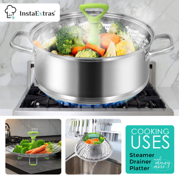 Stainless Steel Expandable Steamer Basket